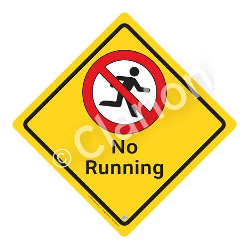 No Running Sign (WSS2107-02a-e) )