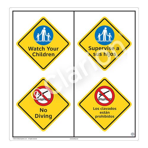 Watch Your Children Sign (WSS2211-51b-esm) )