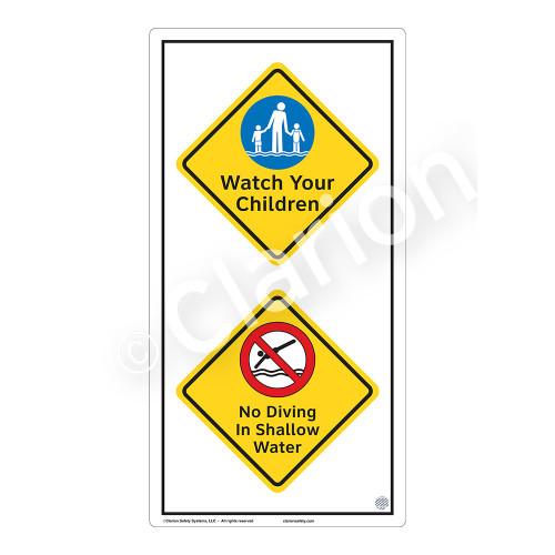 Watch Your Children Sign (WSS2212-50b-e) )