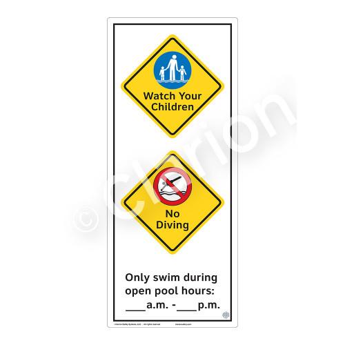 Watch Your Children Sign (WSS2261-52b-e) )