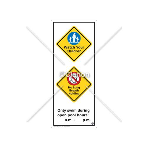 Watch Your Children Sign (WSS2264-52b-e) )