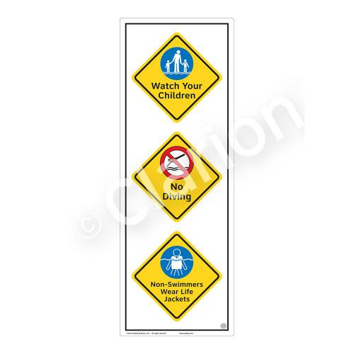 Watch Your Children Sign (WSS2319-54b-e) )