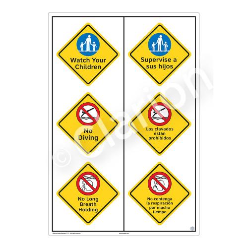 Watch Your Children Sign (WSS2320-55b-esm) )