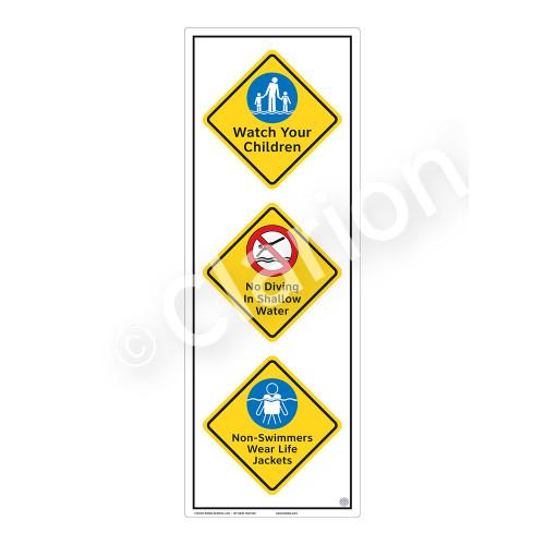Watch Your Children Sign (WSS2321-54b-e) )