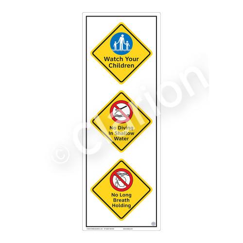Watch Your Children Sign (WSS2322-54b-e) )