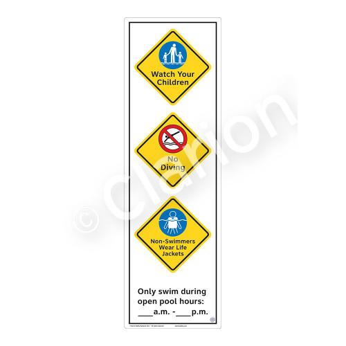 Watch Your Children Sign (WSS2369-56b-e) )