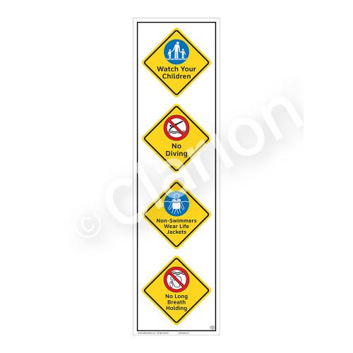 Watch Your Children Sign (WSS2413-58b-e) )