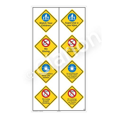 Watch Your Children Sign (WSS2413-59b-esm) )