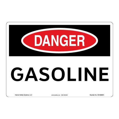 Danger/Gasoline Sign (OS1089DH-)