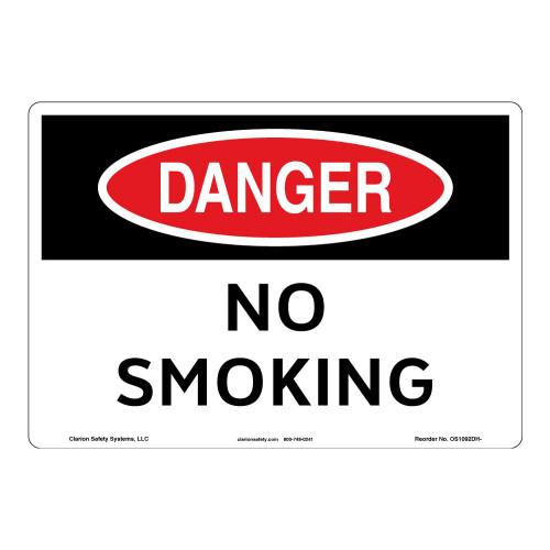 Danger/No Smoking Sign (OS1092DH-)
