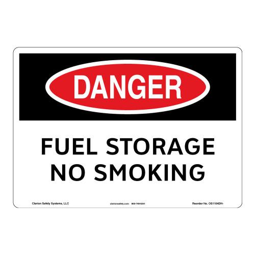 Danger/Fuel Storage Sign (OS1104DH-)