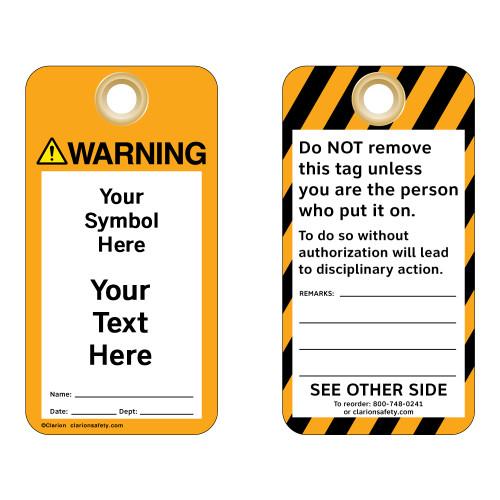Custom Warning Tag