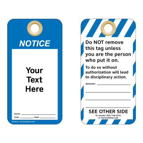 Custom Notice Tag