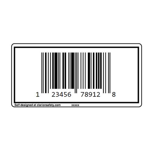 Custom UPC Barcode Label