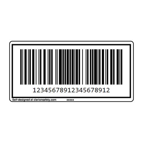 Custom CODE128 Barcode Label