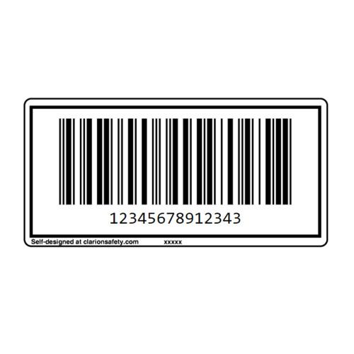 Custom ITF-14 Barcode Label