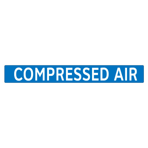 COMPRESSED AIR Pipe Marker (PS-PA9B)