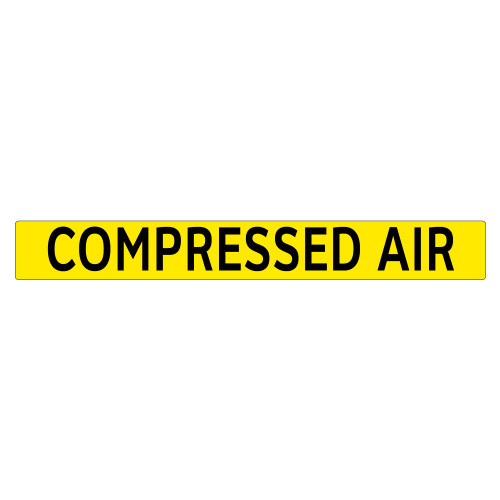 COMPRESSED AIR Pipe Marker (PS-PA9Y)