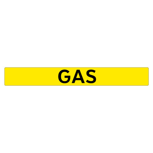 GAS Pipe Marker (PS-PC5Y)