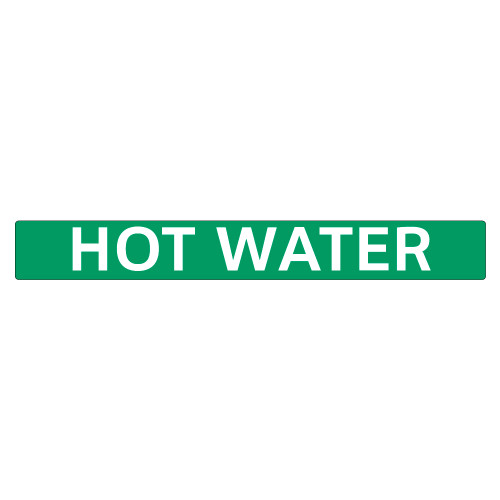 HOT WATER Pipe Marker (PS-PD4G)