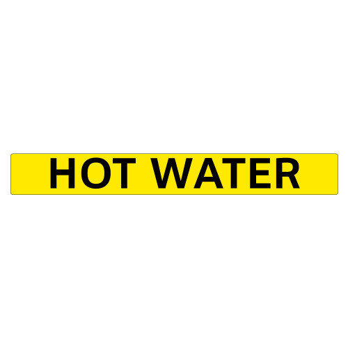HOT WATER Pipe Marker (PS-PD4Y)