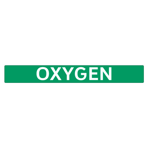 OXYGEN Pipe Marker (PS-PE6G)