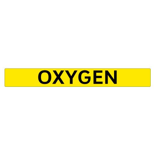OXYGEN Pipe Marker (PS-PE6Y)