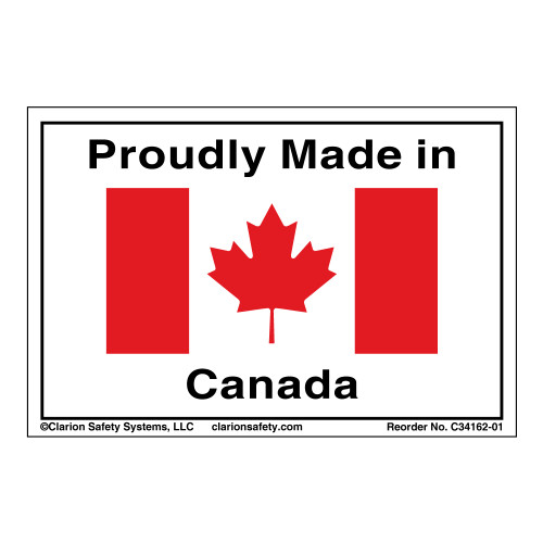Proudly Made In Canada (C34162-01)