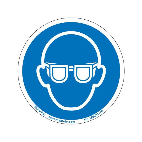 Wear Eye Protection (IS6031-TD)