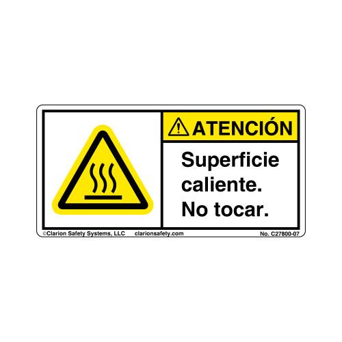Caution/Hot Surface (C27800-07)