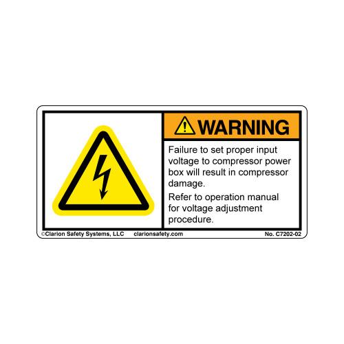 Warning/Failure To Set (C7202-02)