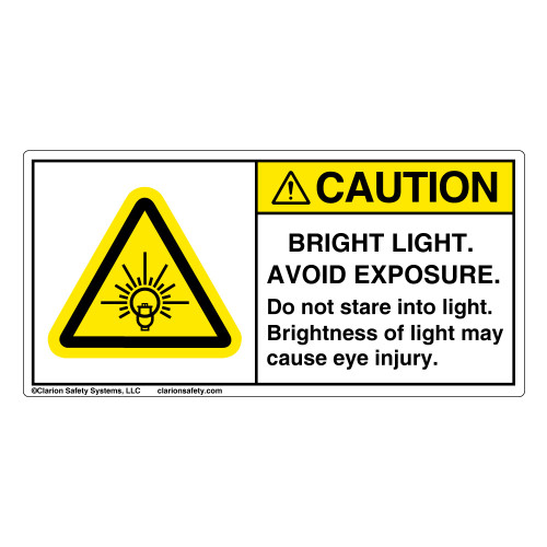 Caution/Bright Light (H6133-TJCH)