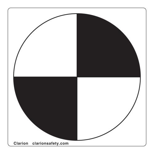 Center Of Gravity Label (IEC6199-)