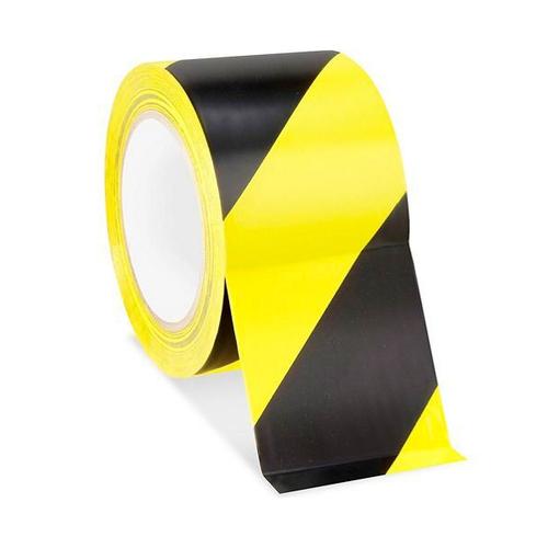 Safety Tape - Black/Yellow (VST-3-KY)