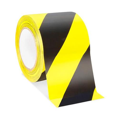 Safety Tape - Black/Yellow (VST-4-KY)
