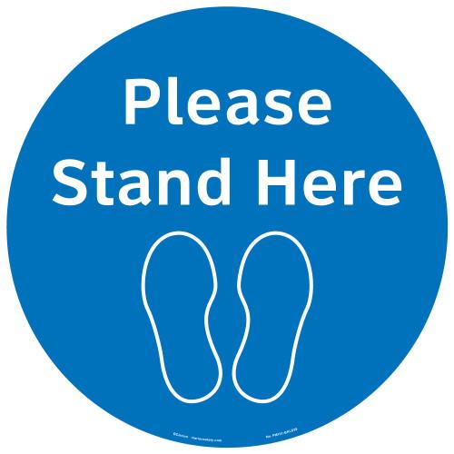 Please Stand Here (FM101-BMPF4E)
