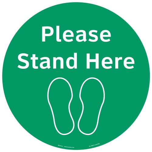 Please Stand Here (FM101-GMPF4E)