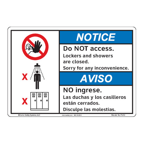 Notice/Do Not Access (F1372-)