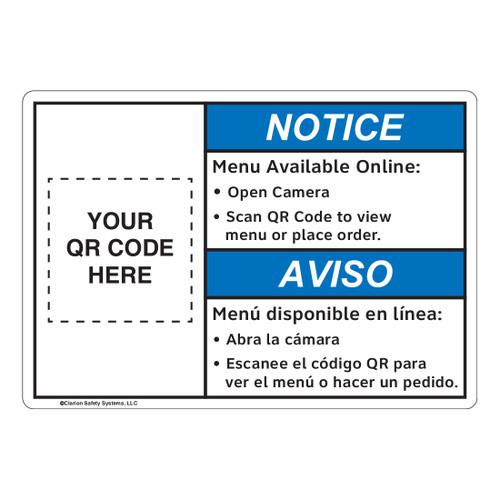 Notice/Scan QR Code (FL1136-)
