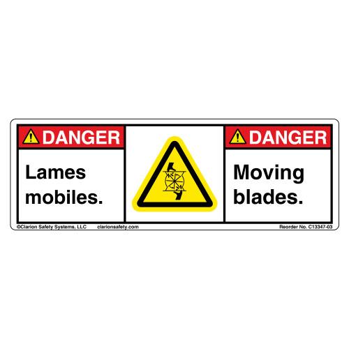 Danger/Moving Blades C13347-03