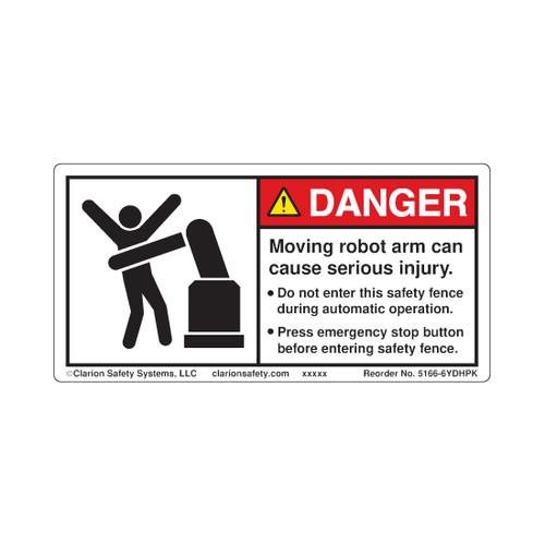 Danger/Moving Robot Arm ( 5166-6YDHPK)