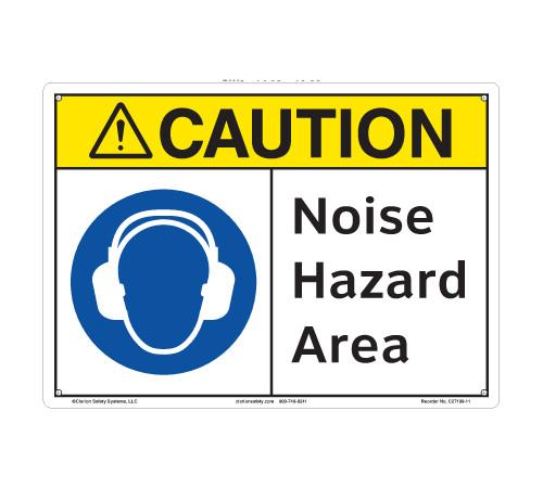 Caution/Noise Hazard Area (C27109-11)