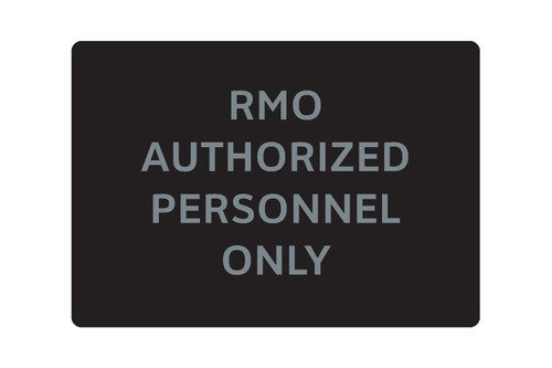 RMO Authorized Personnel Only (C27109-16)