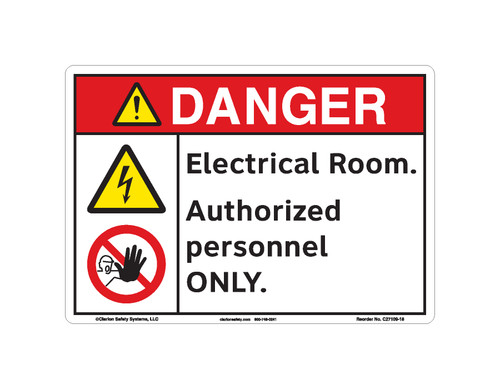 Danger/Electrical Room (C27109-18)