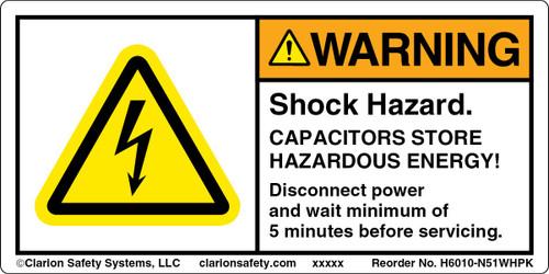 Warning/Shock Hazard ( H6010-N51WHPK)