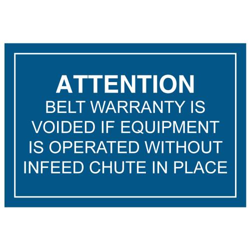 Attention/Belt Warranty (C17876-99)
