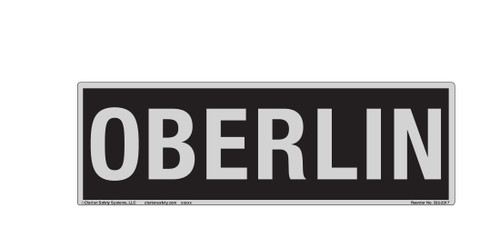 Oberlin Label (532-2017)