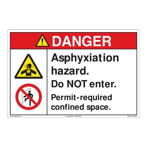 Danger/Asphyxiation (FM102-)