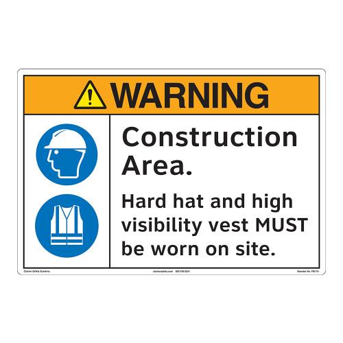 Warning/Construction Area Floor Marker (FM114-)