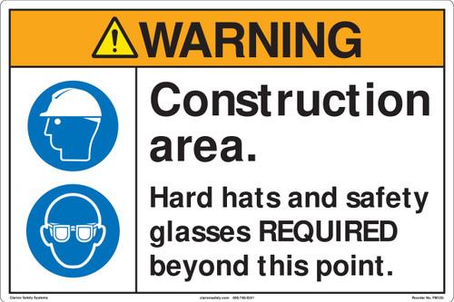 Warning/Construction Area Floor Marker (FM120-)